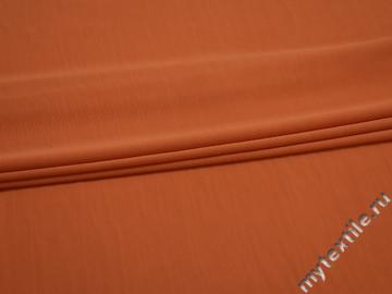 Трикотаж оранжевый вискоза АД248