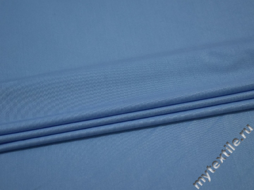Трикотаж голубой полиэстер АД231