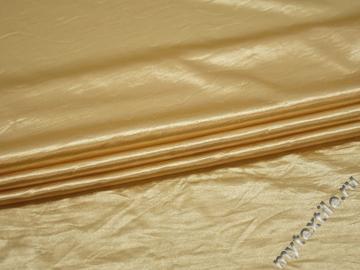 Трикотаж желтый полиэстер АД229