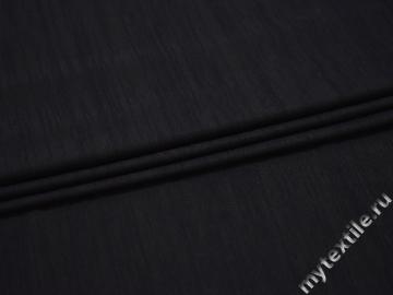 Трикотаж синий полиэстер АД217