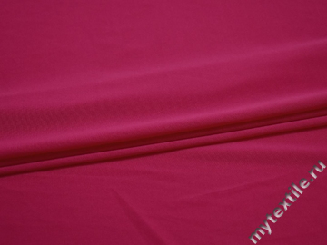 Трикотаж малиновый полиэстер АД215