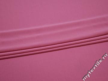 Трикотаж розовый  вискоза полиэстер АД29