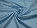 Тафта голубого цвета полиэстер БВ689