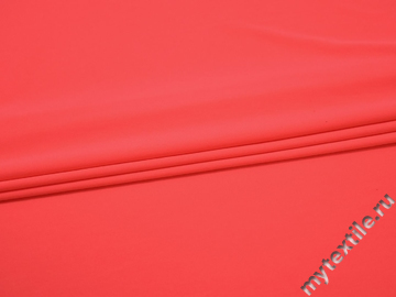 Бифлекс кораллового цвета полиэстер АА146