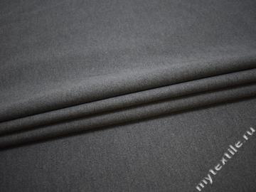 Пальтовая серая ткань хлопок ГЖ351