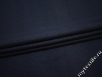 Пальтовая синяя ткань шерсть полиэстер ГЁ24