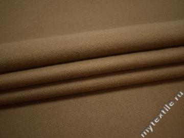 Пальтовая бежевая ткань шерсть ГЁ231