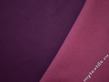 Пальтовая розовая сиреневая ткань шерсть полиэстер ГЖ530