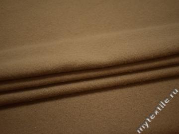 Пальтовая бежевая ткань из шерсти ГЁ231