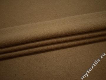 Пальтовая бежевая ткань из шерсти ГЖ527