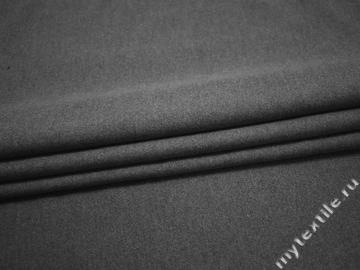 Пальтовая серая ткань из хлопка ГЖ351