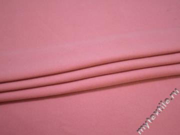 Пальтовая розовая ткань полиэстер ГЁ42