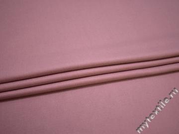 Пальтовая розовая ткань полиэстер ГЁ410
