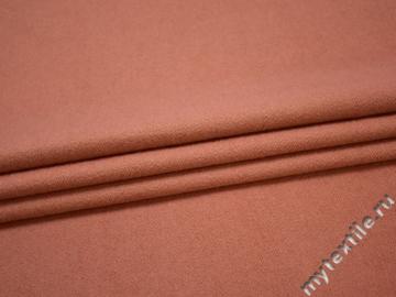 Пальтовая коралловая ткань шерсть полиэстер ГЁ424