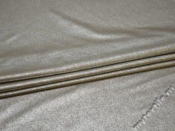 Замша серебряная полиэстер эластан ГЕ372