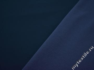 Трикотаж синий полиэстер АА44