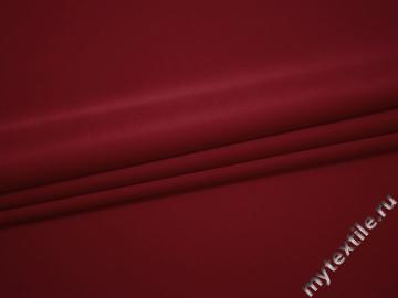 Костюмная красная ткань полиэстер эластан ДЁ444
