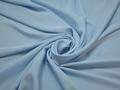 Плательный креп голубой полиэстер ДЁ429