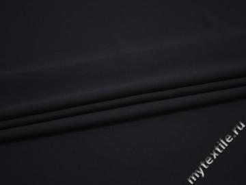 Плательный креп темно-фиолетовый полиэстер ДЁ459