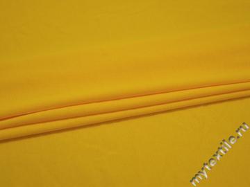 Трикотаж желтый хлопок АД163
