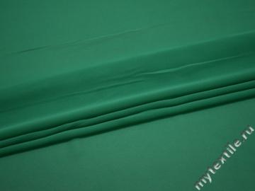Шифон зеленый полиэстер ГБ676