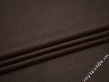 Вельвет коричневый хлопок эластан ЕА470