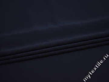 Костюмная синяя ткань полиэстер эластан БД786