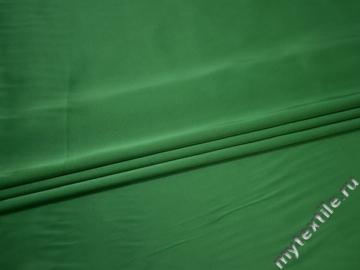 Атлас зеленый полиэстер ЕА3152