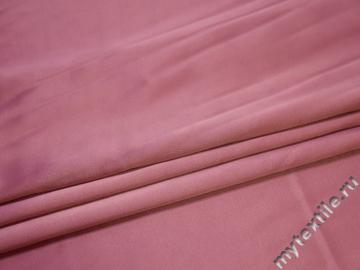 Атлас розовый полиэстер ЕА3155