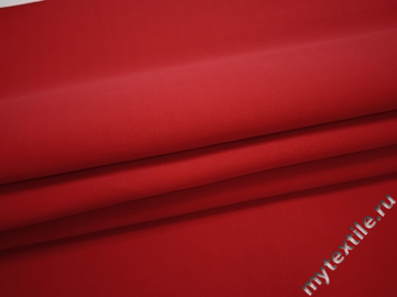 Неопрен красный полиэстер эластан АБ571