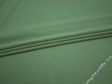 Плательный креп ментоловый полиэстер эластан БД714