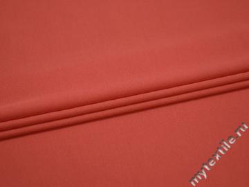 Плательная коралловая ткань вискоза хлопок БД715