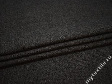 Пальтовая коричневая ткань шерсть ГЁ640