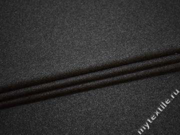 Пальтовая серая ткань шерсть полиэстер ГЖ364