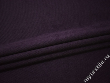 Пальтовая фиолетовая ткань полиэстер ДЛ43