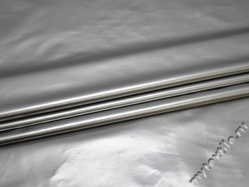 Лаке серебряного цвета полиэстер ГГ195