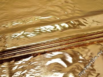Лаке золотого цвета полиэстер ГГ172