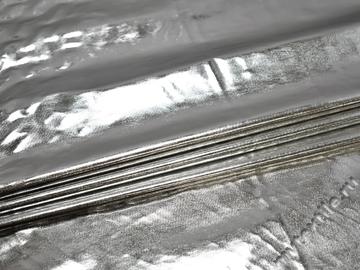 Лаке серебряного цвета полиэстер ГГ177