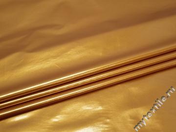 Лаке золотого цвета полиэстер ГГ146