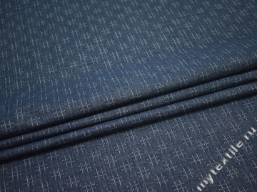 Джинс синий хлопок ВА282