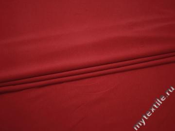 Трикотаж красный вискоза хлопок АЕ559