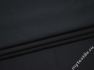 Костюмная синяя ткань хлопок ВЕ389