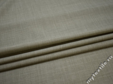 Костюмная серая ткань шелк полиэстер ГЕ4130