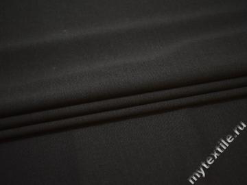 Костюмная серая ткань шерсть полиэстер лайкра ГЕ4123