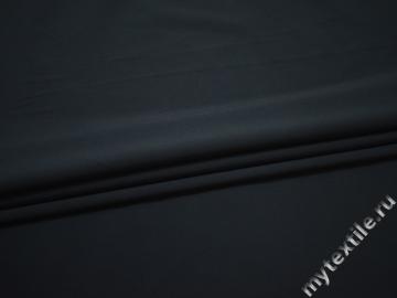 Костюмная синяя ткань полиэстер эластан ВБ159
