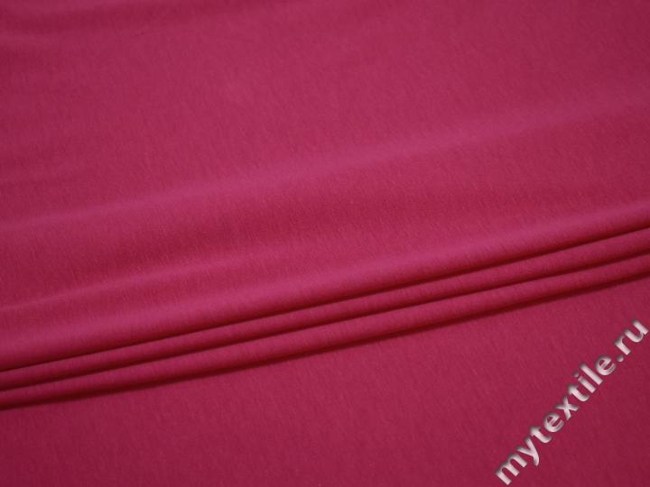 Трикотаж розовый хлопок АЁ450