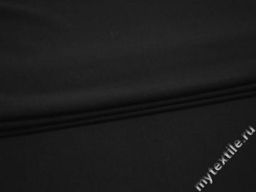 Трикотаж черного цвета хлопок АВ5100