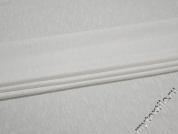 Трикотаж белого цвета хлопок АВ651