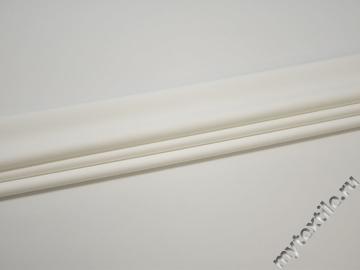 Костюмная молочная ткань полиэстер эластан ВВ158