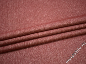 Костюмная красная ткань шерсть ГД480